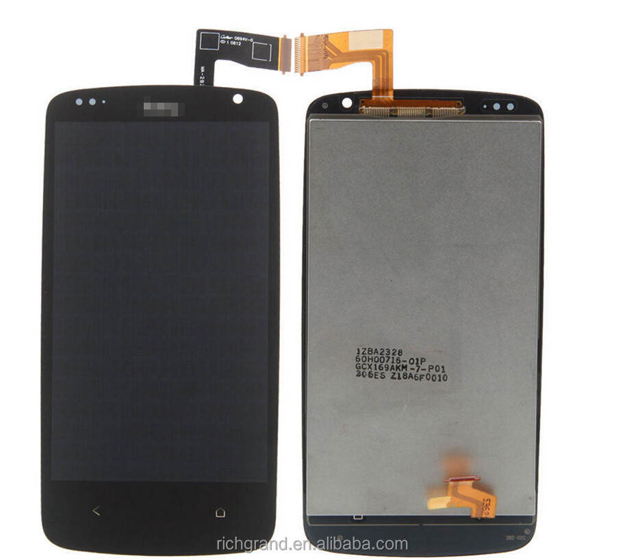 Full New LCD Display Panel Screen + Touch Screen Digitizer Glass Lens Assembly Replacement For HTC Desire 500 D500