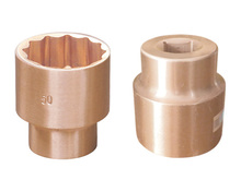 "Anti Spark Aluminum Bronze Impact Socket 1"" non-sparking safety tools non spark socket"