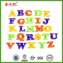 Fashion fridge magnet baby child toy A-z educational alphabet 26 pcs