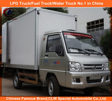 Foton 3 ton mini Refrigerated Truck 4*2 mini Refrigerated Van Truck for sale