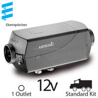 Eberspacher Airtronic D4 12v - 1 Outlet, Standard Kit with Silencer
