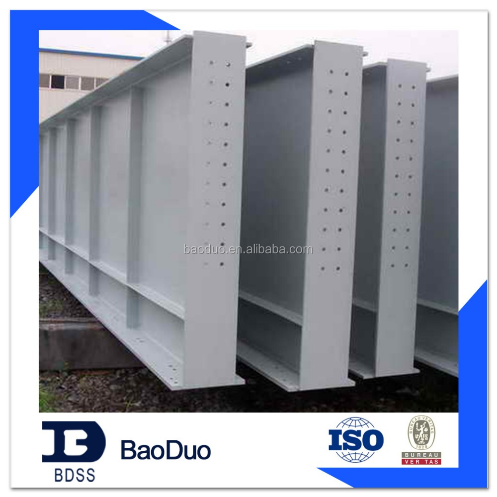 Prefabricated steel columns and beams
