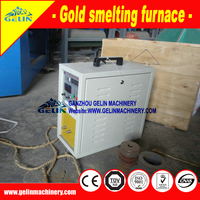 Gold small smelting furnace