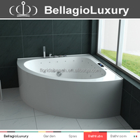 Air bubble massage bathtub, economic whirlpool bathtub, hot sale high quality cheap corner tub