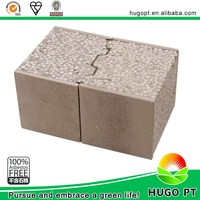 Thermal Isolation Fire Resistant Prefab Concrete Wall Panels