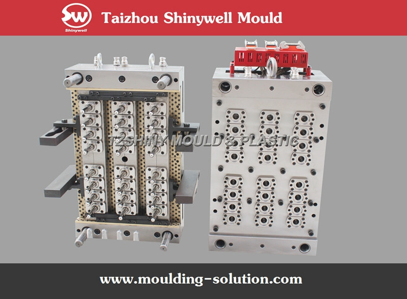 injection medical auto vacuum blood tube mould molded