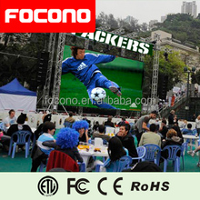 LED screen display ice hockey stadium led advertising panel/LED perimeter/stadium led screen board