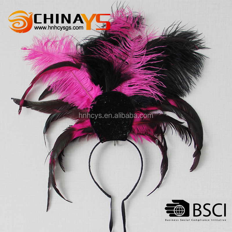 NEW!!! 2013 whoelsale fashion YS5247 feather girls headbands