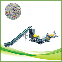 PE PP scraps washing and recycling machine
