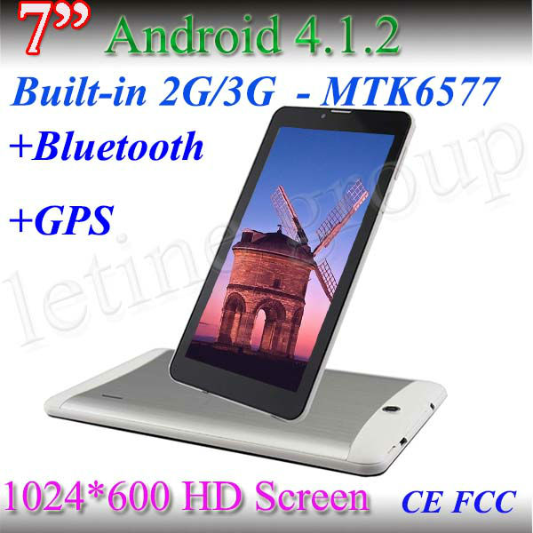 MTK6577 7inch tablet pc HD 1024*600 screen protector