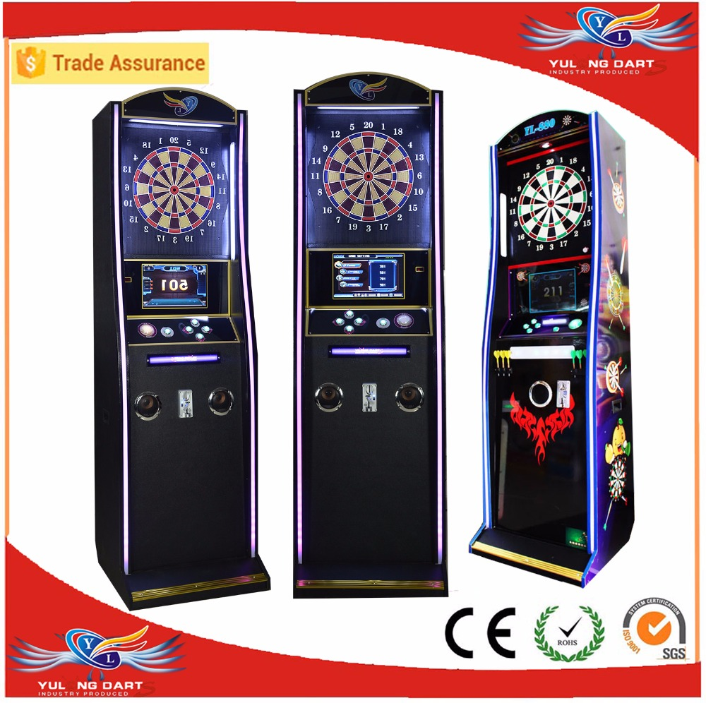 2017 international-standard arcade electronic soft tip coin operated dart board