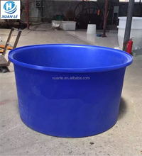 500litre recycled round plastic barrel container wholesale