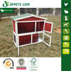 DFPets DFR024RW Double Metal Floors Rabbit Hutch With Red Color