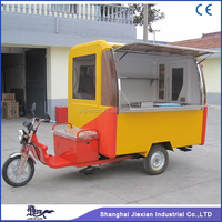 JX-FR220GA Hot selling Customized Design Outdoor electric Mobile BBQ Vending van