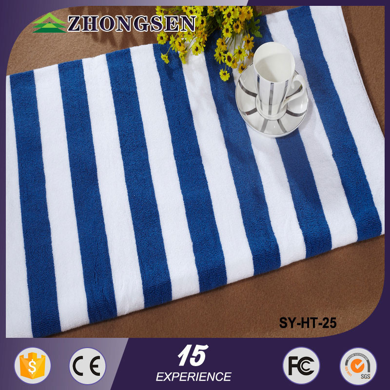 5 Star Hotel Standards cotton Fiber Jacquard microfibre whole bulk beach towel