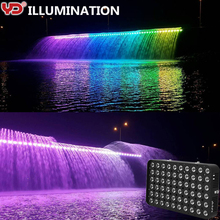 IP68 dmx rgb outdoor led flood light for landscape lighting decoration