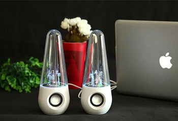 LED Dancing Water Wireless Bluetooth Stereo Speaker Computer Laptop