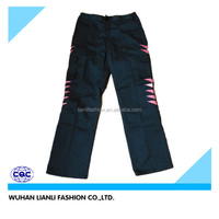 men cargo pants with fluorescent tapes