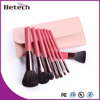 8pcs Natural Make up Brushes lip liner cosmetic face brush