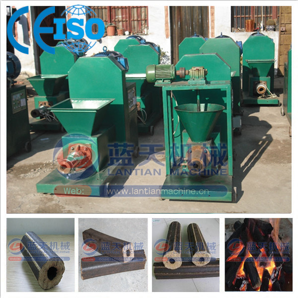 Reasonable price peanut shell charcoal briquette extruder machine