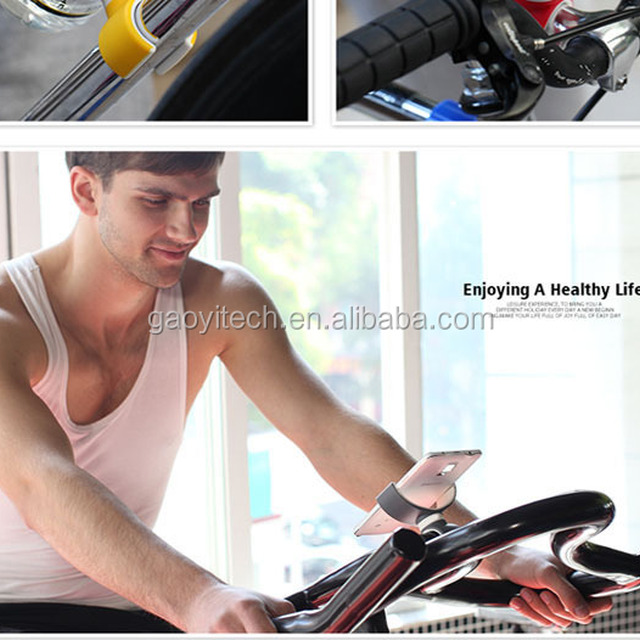 High quality Multifunction home gym phone holder Bicycle mount holder for samsung galaxy s5 (HC128)