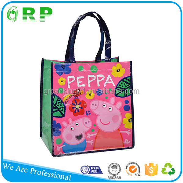 China factory supply durable reusable cheap lovely shopping bags