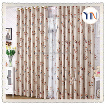 wholesales very cheap curtains Yoniner made blackout chinese curtains