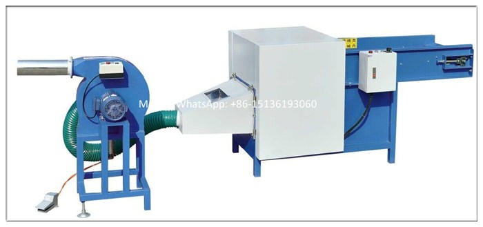 Automatic carding machine for sheep wool and fiber /fiber opening machine pillow filling machine