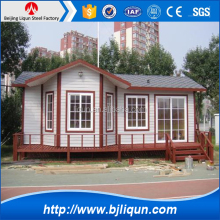 2016 Prefabricated Log House Wooden Villa Cheap Prefab Homes