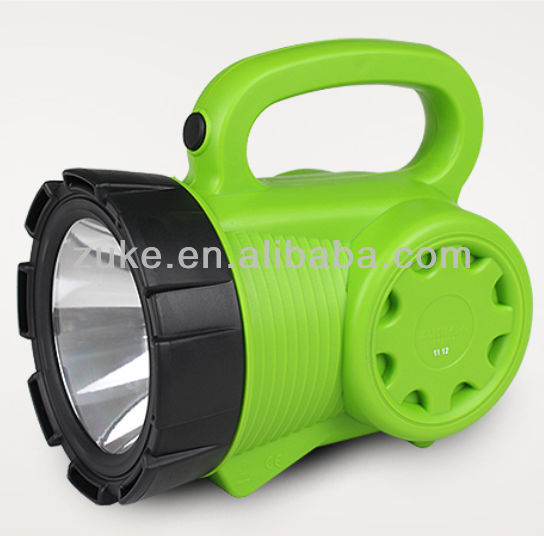 Rechargeable Plastic Powerful CREE Flashlights LED for Hunting-ZK2166