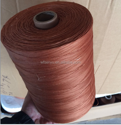stiff and soft dipped polyester cord for ropes and fishing nets