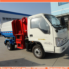 Low price 6 m3 capacity foton cargo waste collection truck