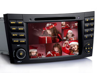 "7"" HD 3G GPS Radio Navigation map Bluetooth usb mp3 inch Car Audio System with GPS for W463"