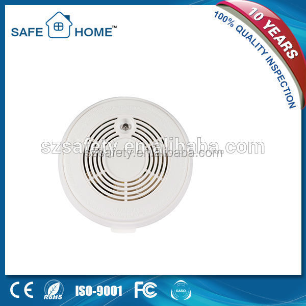 Most Favoured Accredited Wireless <strong>GSM</strong> 9v Battery Operated Smoke Alarm Detector for Home Security SFL-908