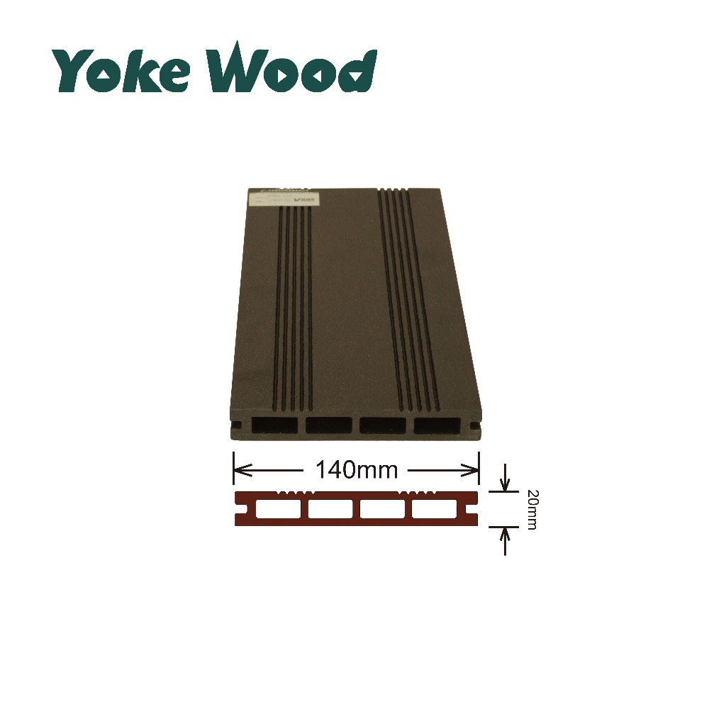 2017 New Customized High Density Yard Terrace Cheap Co-extrude Wood Plastic Composite Decking Terrace Tiles WPC Flooring