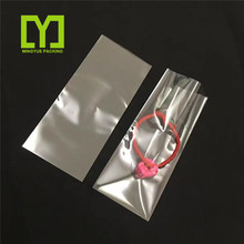 Yiwu Cheap Resealable Printing Custom opp block bottom bag for Decorations