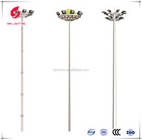LED high mast lighting price outdoor street lights & lightings, round electric pole