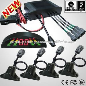 24V Truck / Trailer parking sensor system with LED display waterproof