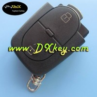 2 buttons remote car key housing remote control case 2032 battery