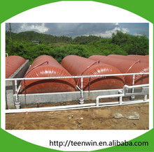 The Solution For Medium To Large Farms Floating anaerobic digestions