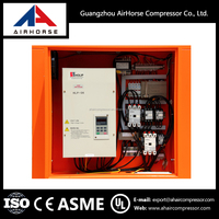 Highest level GHH 55kw 75hp silent oil direct driven variable frequency drive vsd ac screw air compressor