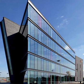 China manufacturer laminated glass exterior building facade