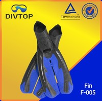 F-005 diving fin for warm water soft molded foot