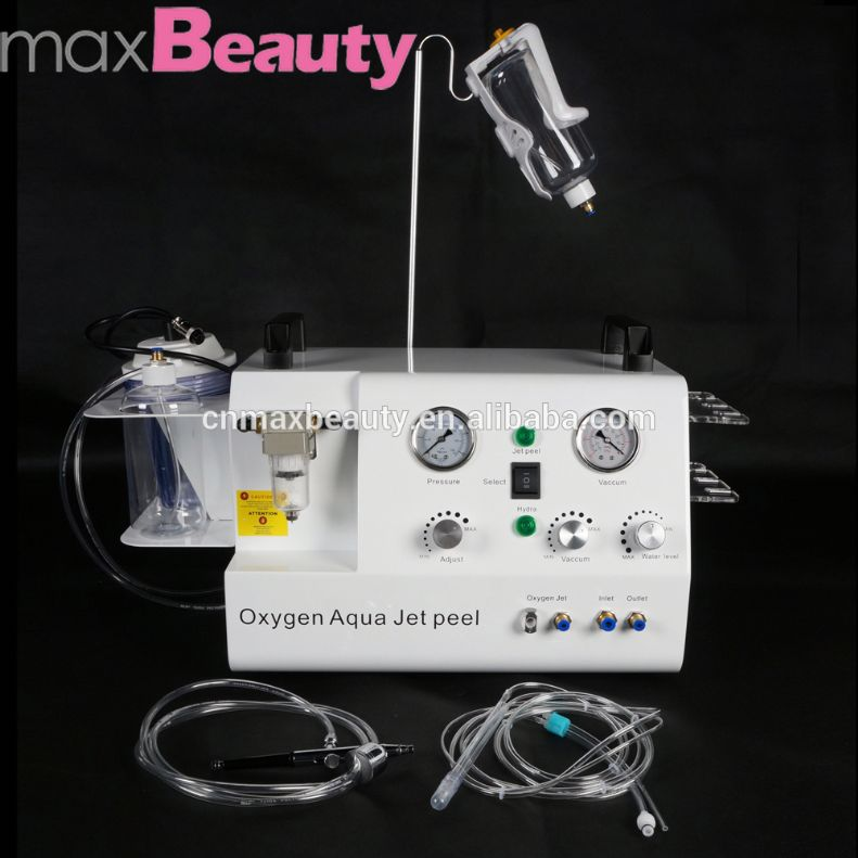 new portable water oxygen jet peel dermabrasion peel Skin Whitening injection oxygen machine for facial clean