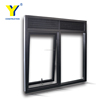 Miami Dade Code standards manufacturer wind proof vertical glass aluminium awning windows