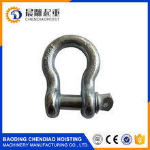 5/8 D ring shackle,3.25 tons Bow shackle for off road outdoor recovery kits