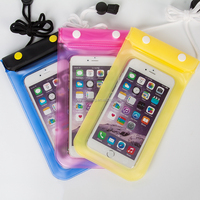 china wholesale promotional for iphone 6/6s phone waterproof bag