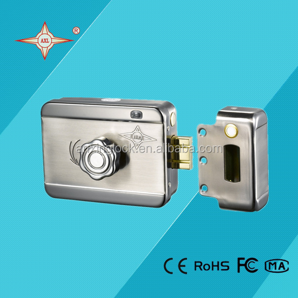 Home intercom security system electric lock access control system door lock electric lock for apartment