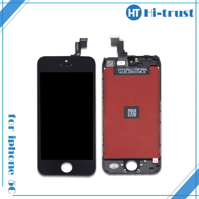 HOT SALE!100% test pass,Stock available for iphone 5c lcd replacement, for iphone 5c lcd touch screen digitizer assembly