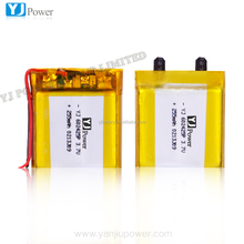 new products 3.7v lithium ion rechargeable polymer battery